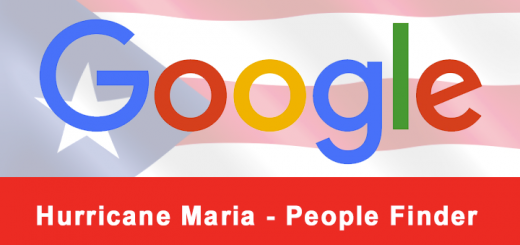Google - Hurricane Maria - People Finder